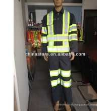 EN471/ANSI T/C or 100% polyester reflective tape for coverall