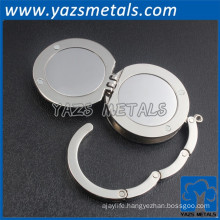 promotional blank purse hanger with logo