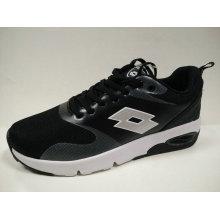 Junge Damen Outdoor Black Air Kissen Jogging Schuhe