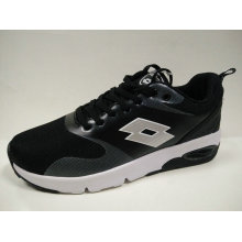 Young Ladies Outdoor Black Air Cushion Jogging Footwear
