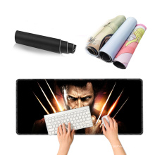 Custom Design Promotional Waterproof Carpet Blank Sublimation Roll Rubber Material Extend Deskpads Large Gaming Mouse Pads