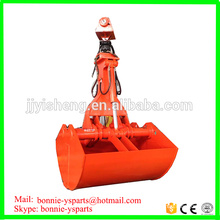 Professional supply 20tons-35 tons excavator clamshell bucket