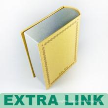 Hot sale accept custom logo top grade multi-color fancy book shaped box