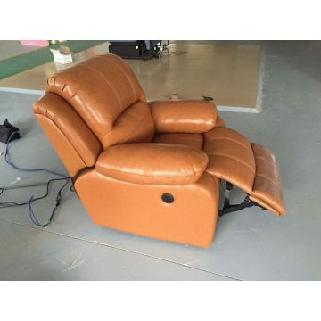 Brown Color Recliner Sofa for Living Room (720)