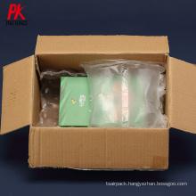 Biodegradable lock air plastic air pillow bags inflatable air cushion film pillow packaging