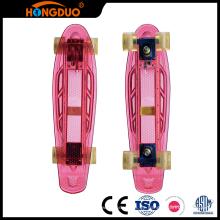 Superier calidad 4 ruedas longboard custom mini patineta mayorista
