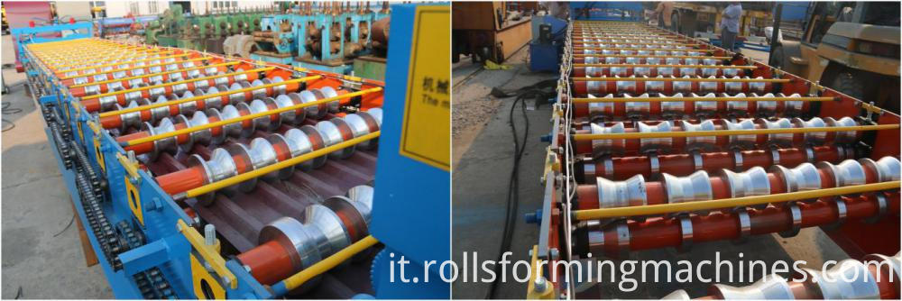 Trapezoid Roofing Panel Roll Forming Mahcine 03