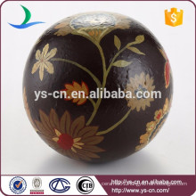 Wholesale art ceramic home decor vintage ball