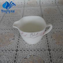 Carré de verre opale 210cc lait Pot