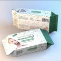 100pcs lingettes humides pour bébé