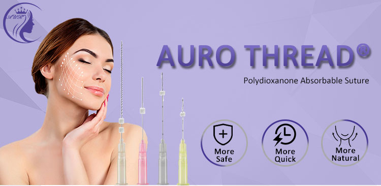 Beauty Face Lifting Needle Polydioxanone Thread
