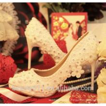 Femmes Chaussures de mariée en cristal nuptiale WS005