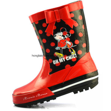 Children Non-Slip Rubber Rain Boots 15