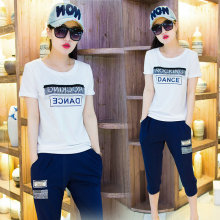 Costumes de sport Girl & Lady 2 PCS (t-shirt + pantalon 70%)