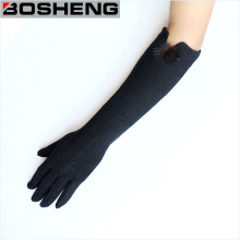Günstige Mode Frauen Arm Lange Stoff Handschuhe
