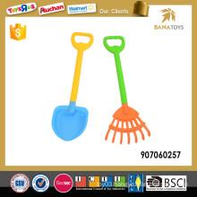 Big sand beach tool with plastic shovel