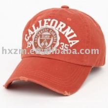 100% cotton baseball caps promo/cheap cotton caps