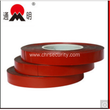 Red Film Double Sided Adhesive Permanent Foam Tape
