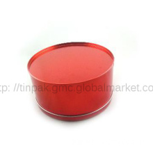 Classic red tin tea box,eco Packaging