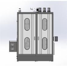 Lavadora de vidrio plano industrial doble vertical