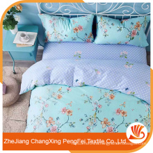 China supplier export 100% polyester microfiber printed bedsheet