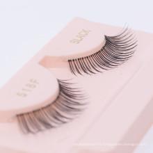 100% Human Hair wholesale false Eyelashes With Custom Logo