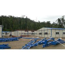 Indonesia Panel de paneles modulares prefabricados para mineros