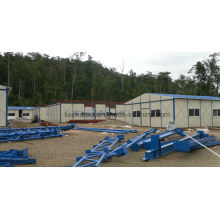 Indonesia Prefabricated Modular Sandwich Panel House for Miner