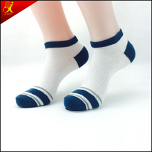 White Color Cotton Ankle Support Sock