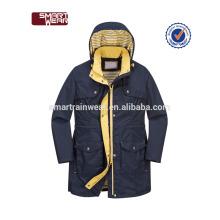 Chaqueta de lluvia impermeable de encargo de la chaqueta del poliéster del servicio del OEM