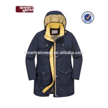 OEM Service Benutzerdefinierte Polyester leichte wasserdichte Jacke Regenjacke