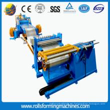 máquina de corte y corte longitudinal de acero