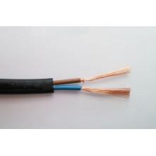 Плоский гибкий силовой кабель с оболочкой из пвх 2x2.5мм2