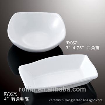 Chaozhou cheap white ceramic dish
