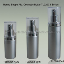 Aluminum Lotion Bottle with AS Cap