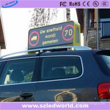 Doble cara al aire libre P5 Taxi Top pantalla LED de fábrica
