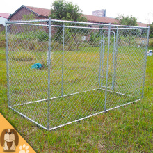 Galvaniserad Outdoor Large Chain Link Dog Kennel