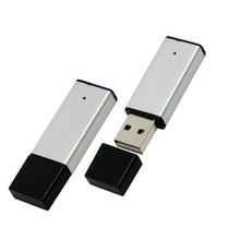 Capacidade alta da vara de USB do grampo do metal do logotipo