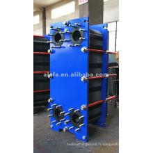 Chauffe-eau en acier inoxydable de Chine, refroidisseur d'huile hydraulique Alfa Laval M10M remplacement