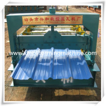 Color Coated Steel Roofing Making Machine Roll Forming Machine