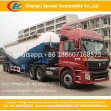 V tipo 3 eixos caminhão de tanque de cimento a granel Dongfeng