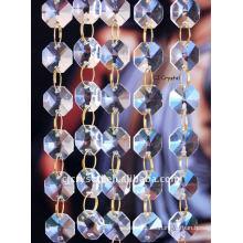 Cuentas de octágonos, cuentas de cristal