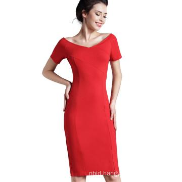 Causal Dresses Business Women Dress