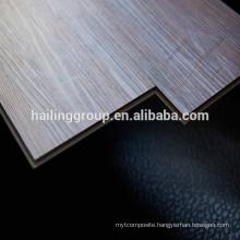 Virgin Materials waterproof click 7mm vinyl pvc flooring