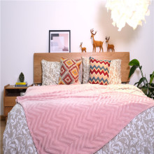 Home Textile Durable Indoor Bedding Fleece Coral Blanket