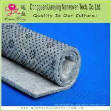 Estilo de punta y punta perforada de aguja Tejido impreso para alfombra