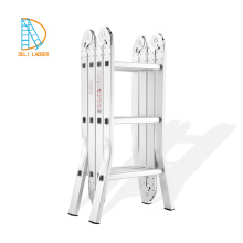 Super Triple Aluminum Ladder with workshelf