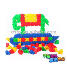 Kids plastic toy connecting toys blocks