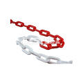 China Manufacturer Coloured Traffic Safety Dia 4mm/6mm/8mm Traffic Barrier Plastic Chain