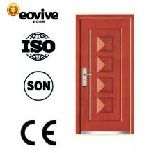 porta de entrada blindada de acabamento superficial